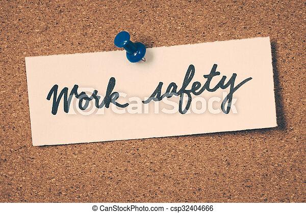 Trabajo seguro - csp32404666