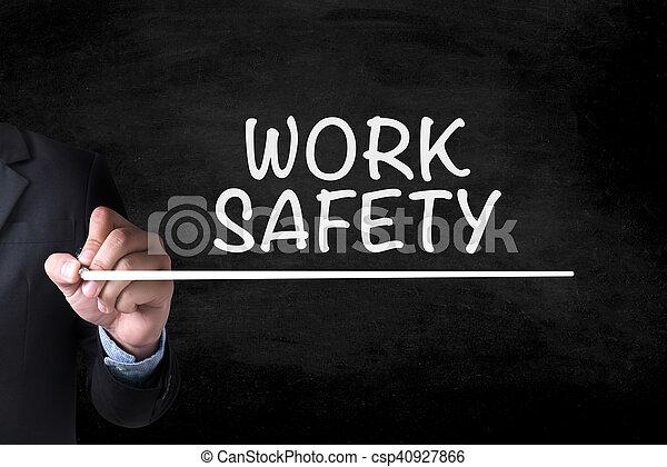 Trabajo seguro - csp40927866