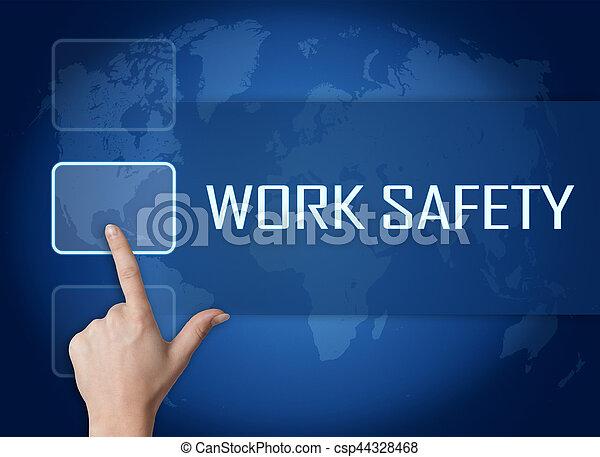 Trabajo seguro - csp44328468
