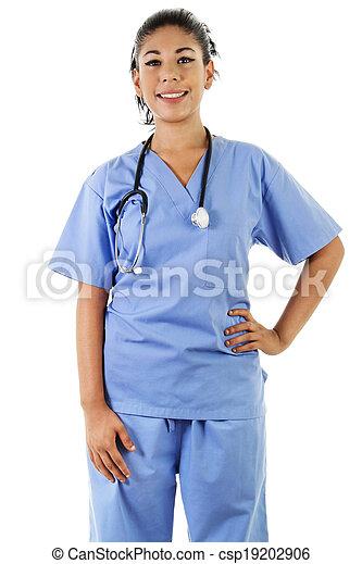 trabalhador, femininas, cuidados de saúde - csp19202906