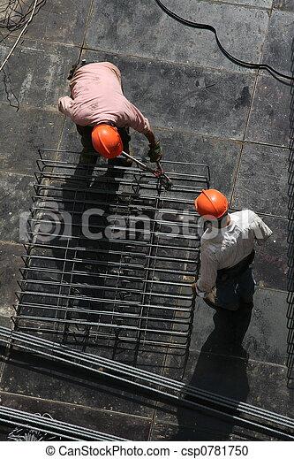 trabalhadores aço - csp0781750