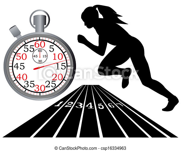 track and field athletics track stopwatch on a white background rh canstockphoto com vector clipart track and field vector clipart track and field