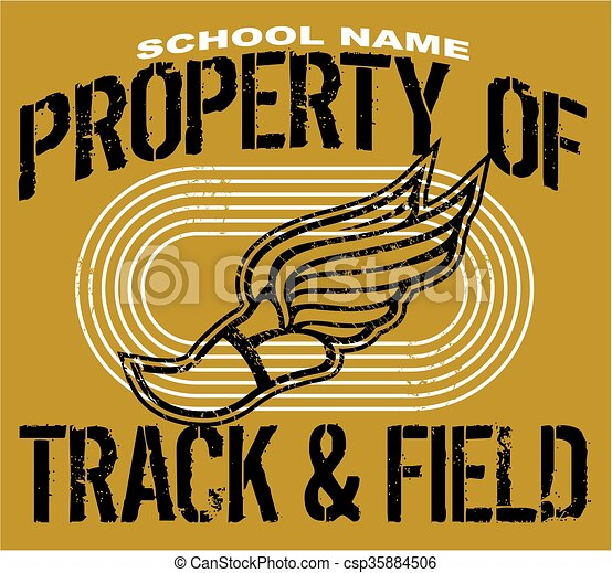 track and field - csp35884506