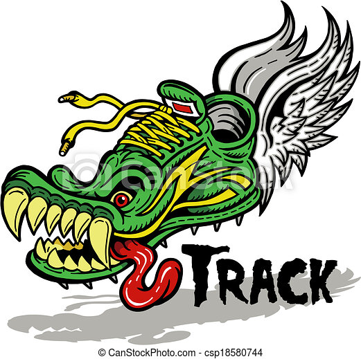 track foot - csp18580744