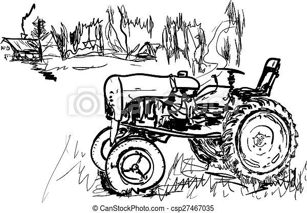 Tractor - csp27467035