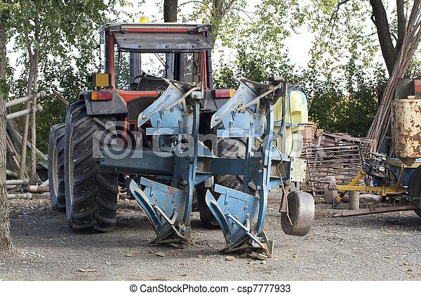 Tractor - csp7777933