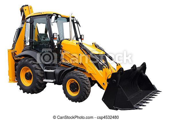 tractor amarillo - csp4532480