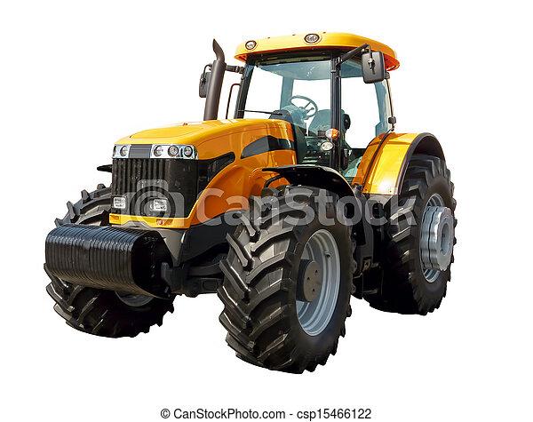 Granjero tractor - csp15466122