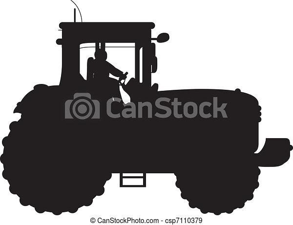 tractor - csp7110379