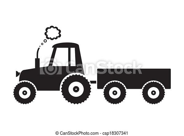 Tractor - csp18307341