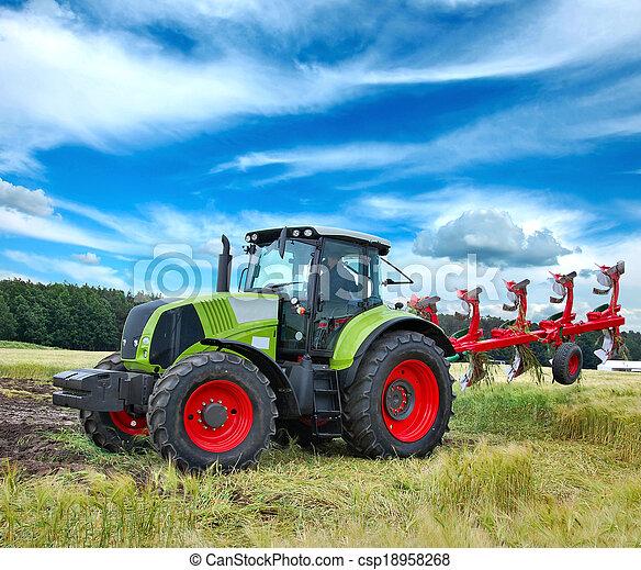Tractor - csp18958268