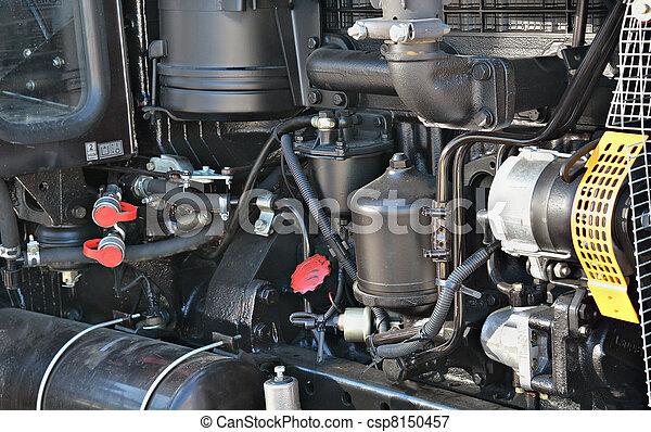 Motor tractor - csp8150457