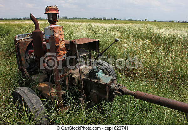 Tractor - csp16237411