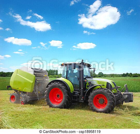 Tractor - csp18958119