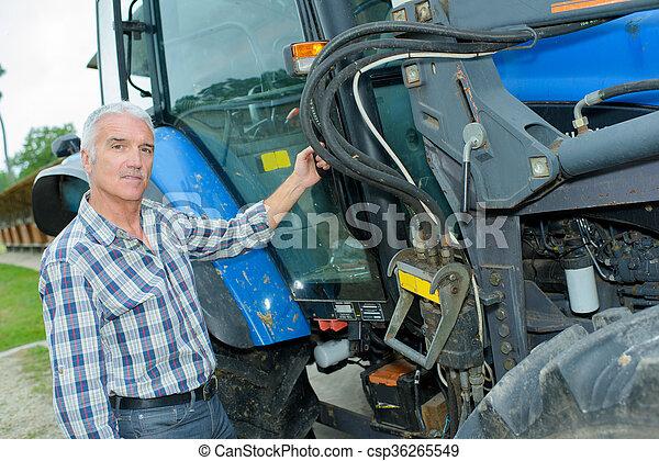 tractor - csp36265549