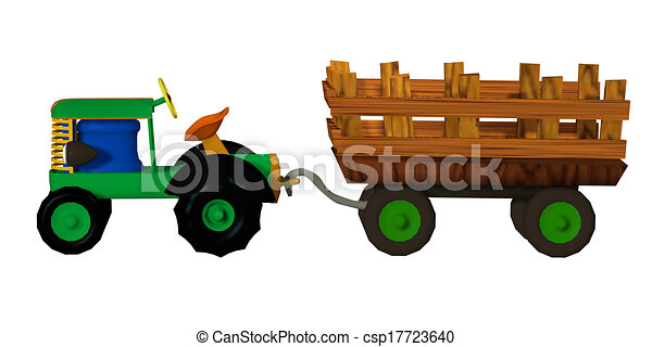 tractor trailer toy drawing search clip art illustrations and eps rh canstockphoto com Tractor-Trailer Graphics tractor trailer truck clip art