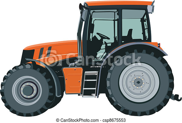 Tractor - csp8675553
