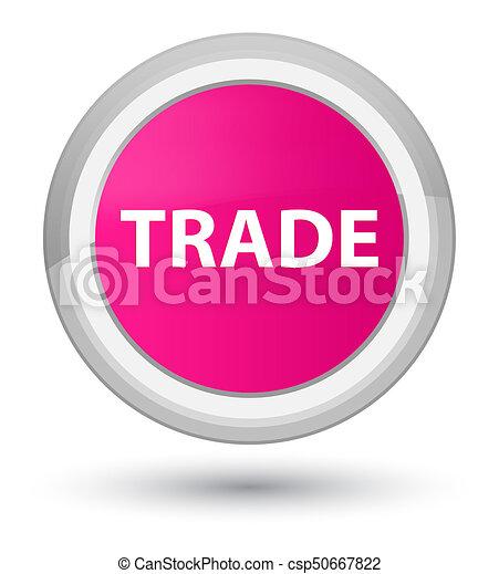 Trade prime pink round button - csp50667822