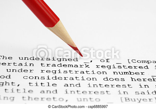 Trademark assignment - csp6885997