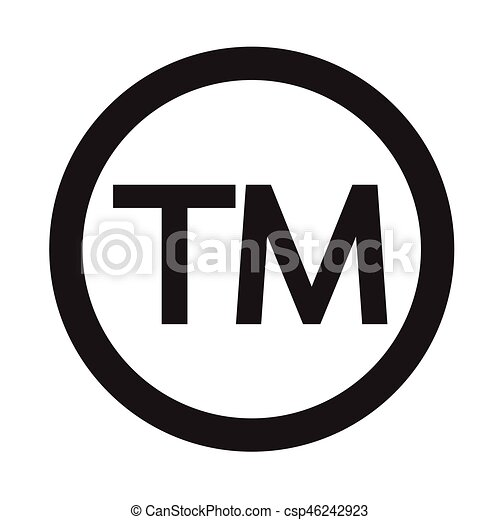 Copyright Trademark Vector Icons Product Name Protection