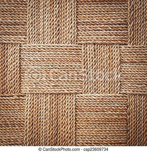 tradicional, hy, artesanato, vime, textura, água, fundo, tecer - csp23609734