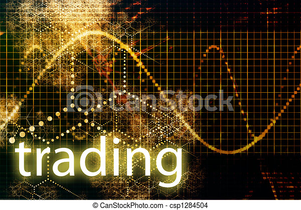 Trading Abstract Business Concept Wallpaper Presentation