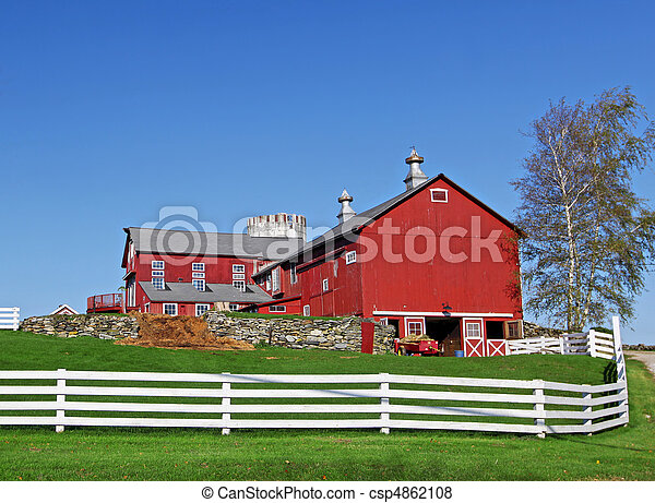 Traditional American Farm Typical Looking Pictures