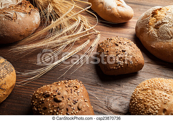 traditional bread and roll - csp23870736