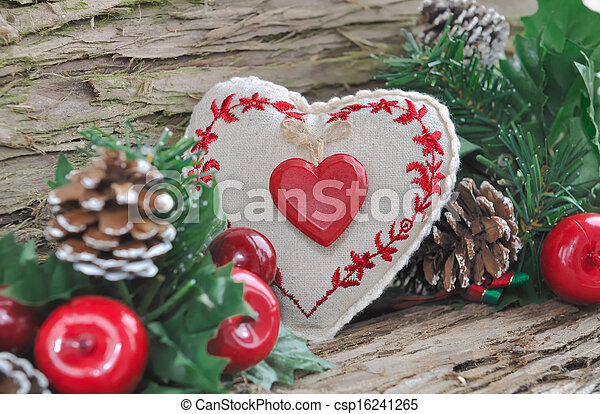 Traditional Christmas decoration - csp16241265