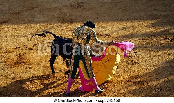 Traditional corrida - csp3743159