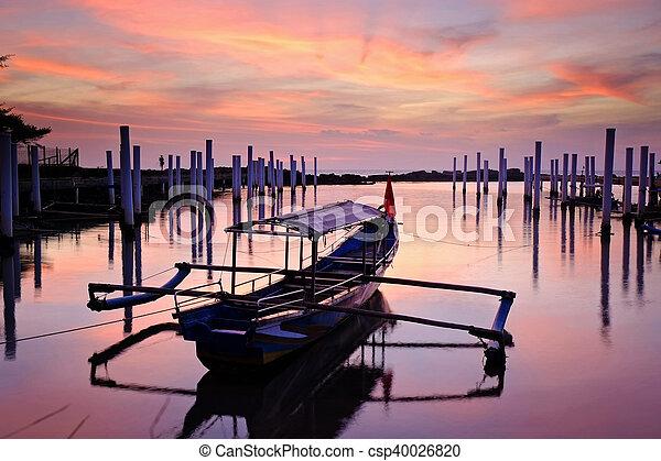 Traditional fisherman's boat - csp40026820