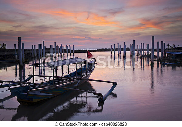 Traditional fisherman's boat - csp40026823