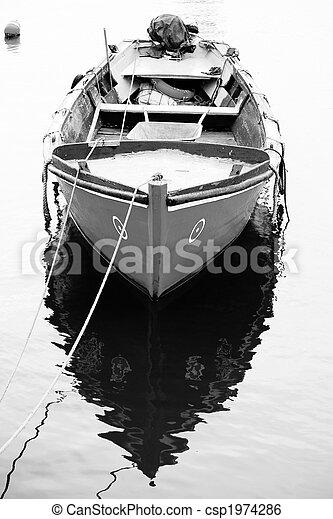 Traditional fishing boat - csp1974286