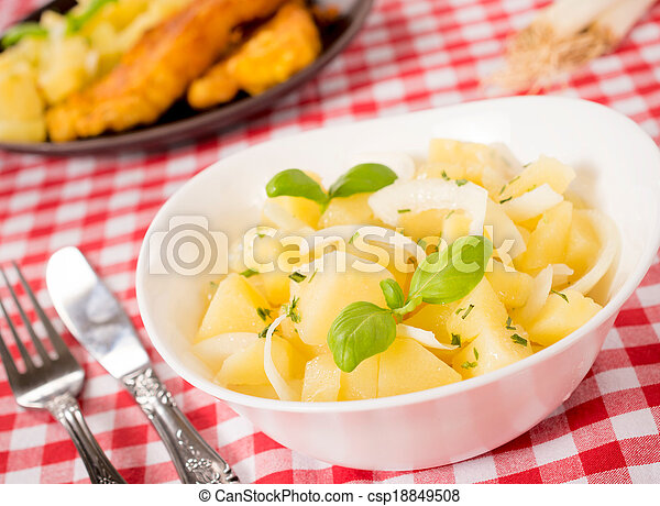Traditional German Potato Salad Traditional German Salad With
