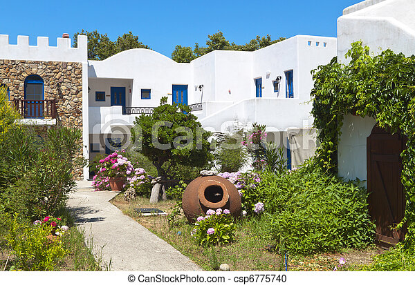 Traditional Greek House stock photography of traditional greek house at samothraki island
