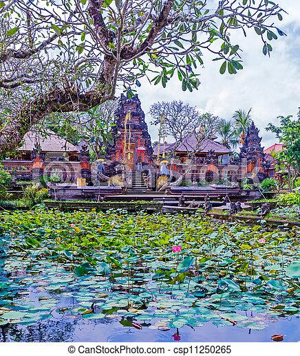 Traditional Hindu Temple, Bali - csp11250265