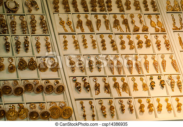 Traditional indian gold jewellery for sale in the shop Gold