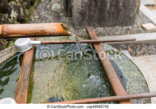 Traditional Japanese Bamboo Fountain Csp49595745