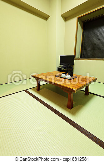 Traditional Japanese living room
