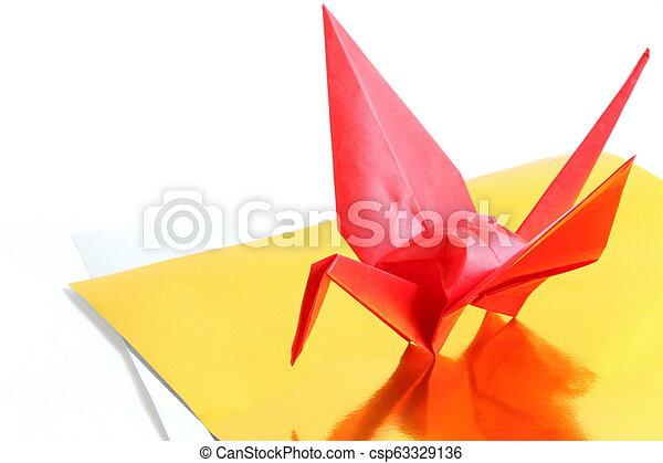 Origami paper crane. An illustration of origami paper crane. this ...   319x450
