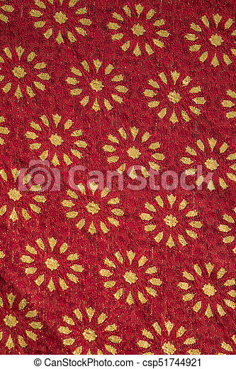 Traditional medieval fabric design - csp51744921