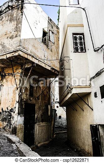 Traditional Moroccan architecture - csp12622871