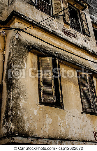 Traditional Moroccan architecture - csp12622872