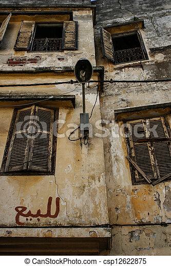 Traditional Moroccan architecture - csp12622875