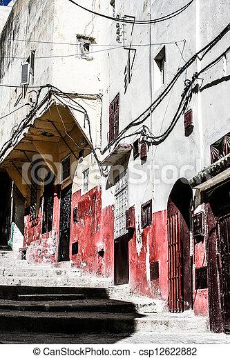 Traditional Moroccan architecture - csp12622882