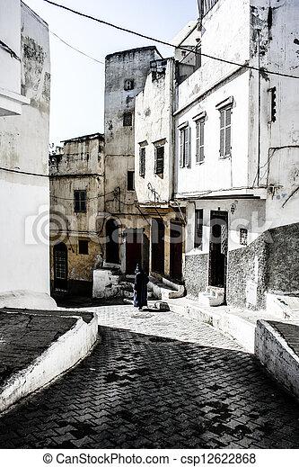 Traditional Moroccan architecture - csp12622868