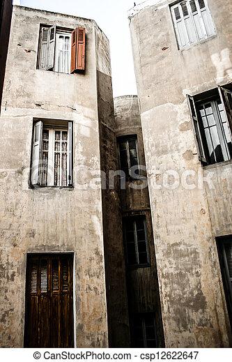 Traditional Moroccan architecture - csp12622647