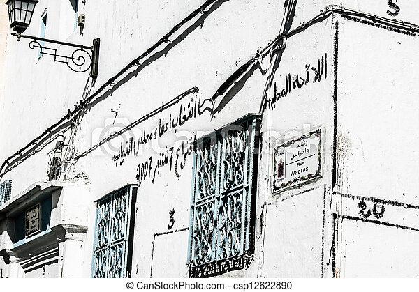 Traditional Moroccan architecture - csp12622890