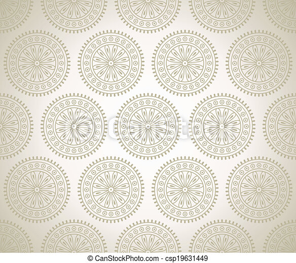 Traditional seamless background - csp19631449