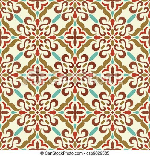 traditional seamless pattern - csp9829585
